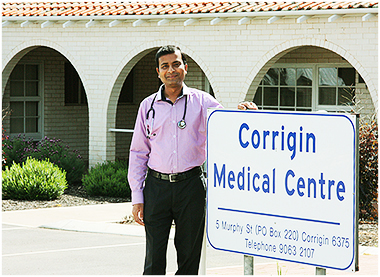 WA Rural Communities-Wheatbelt-Dr Raj Ramakrishna-Corrigin-
