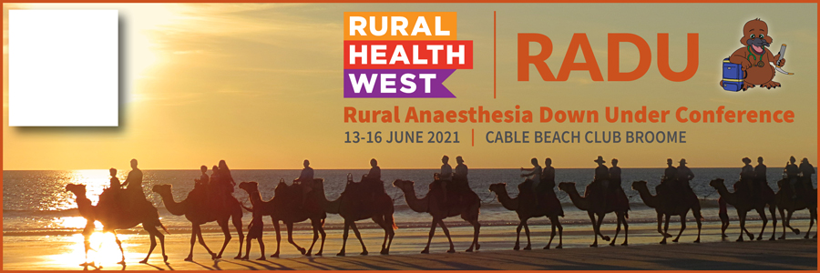 Rural Anaesthesia Down Under Conference 2021