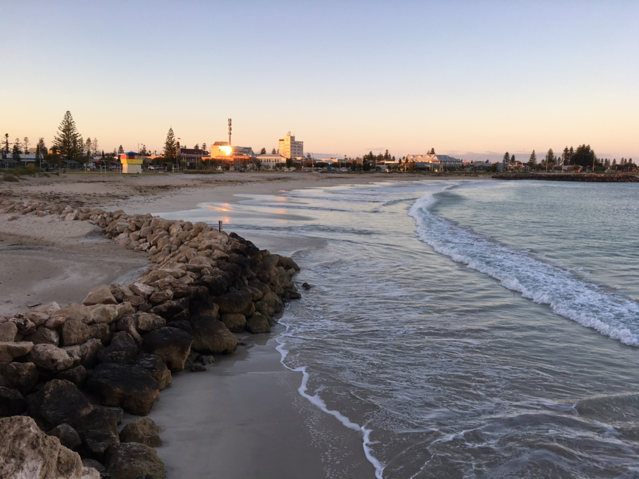 Foreshore sunrise geraldton