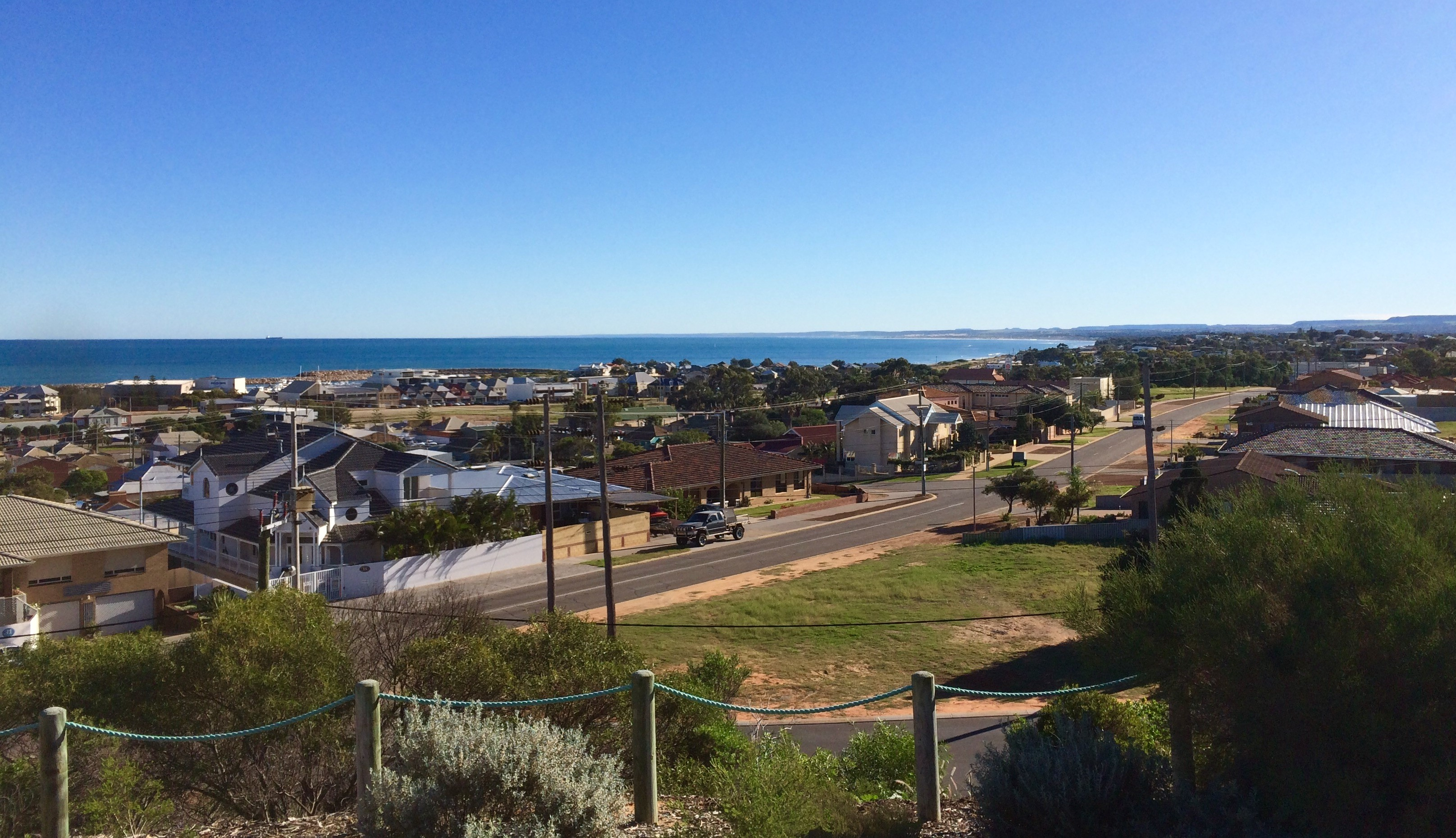 Geraldton view of coast