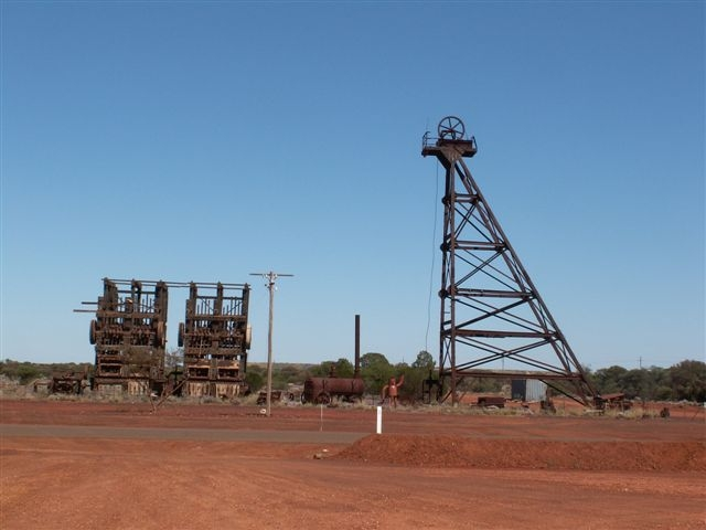 Red earth and mining