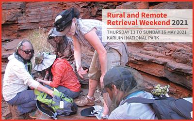 Rural and Remote Retrieval Weekend 2021