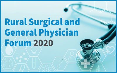 Rural Surgical and General Physician Forum 2020