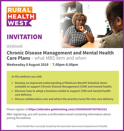 Chronic Disease Management and Mental Health Care Plans