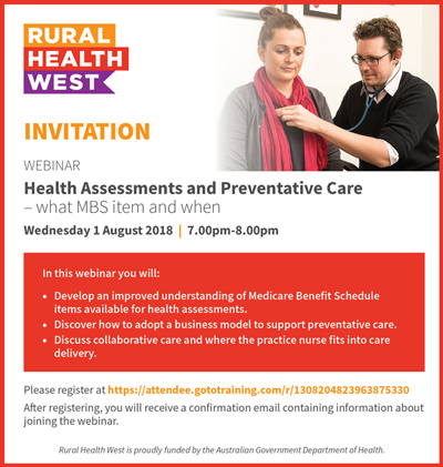 Health Assessments and Preventative Care