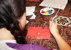 Family program-paintingclass