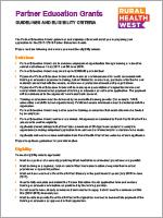 Partner Education Grant-Guidelines-Rural Health West-0717