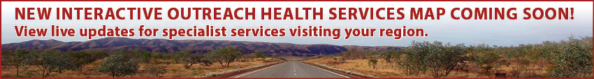 Outreach map western australia specialist services