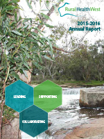 Rural Health West Annual Report 2015-16