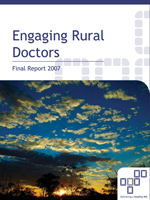engaging rural doctors report cover