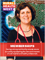 Memberships brochure-Rural Health West-thumb