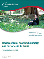 rural health scholarships and bursaries in Australia