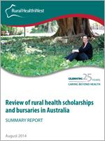 rural health scholarships and bursaries in Australia