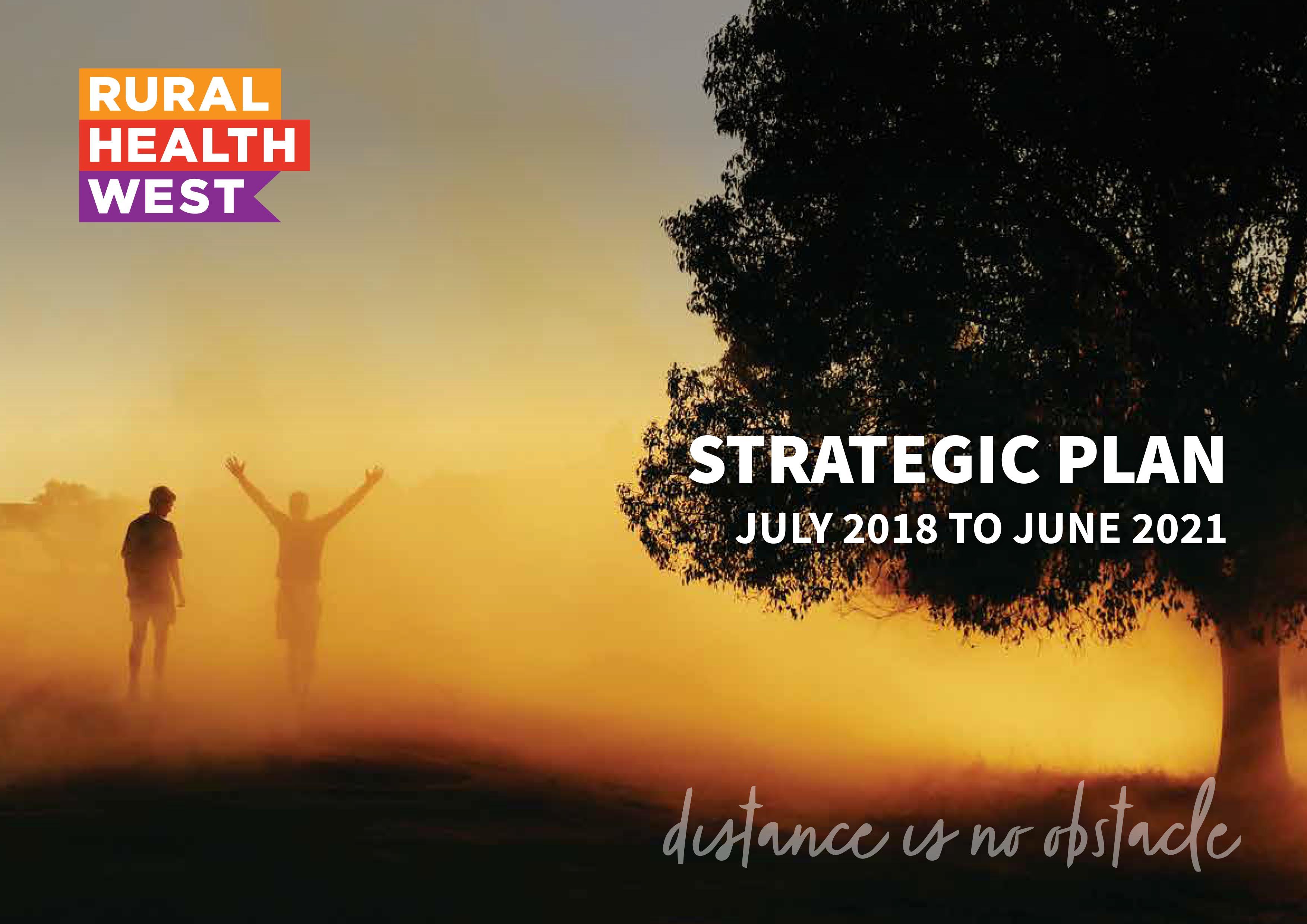 Rural West Strategic Plan 2018 to 2021